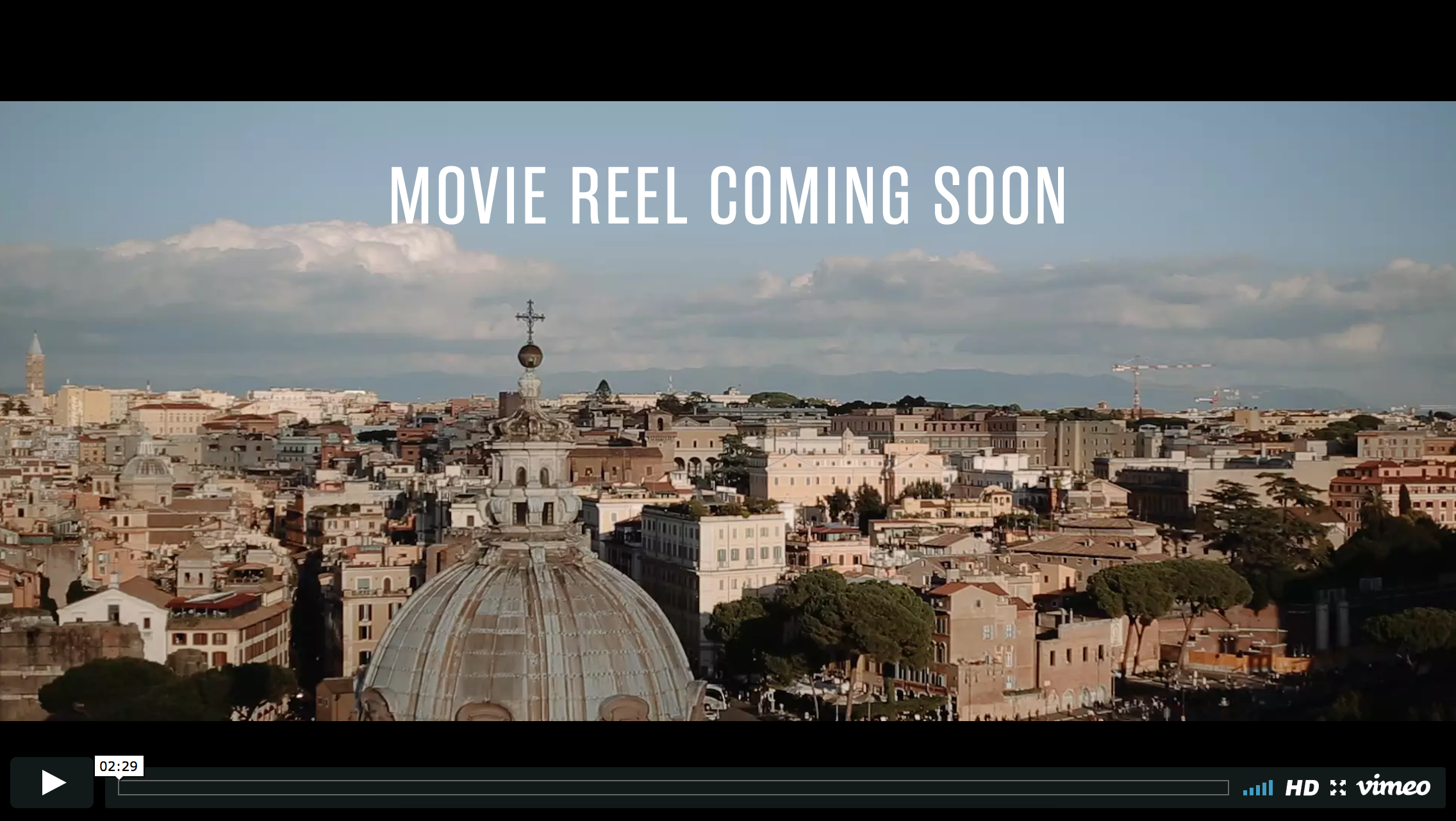 Way Up North 2017 Rome Reel Coming Soon