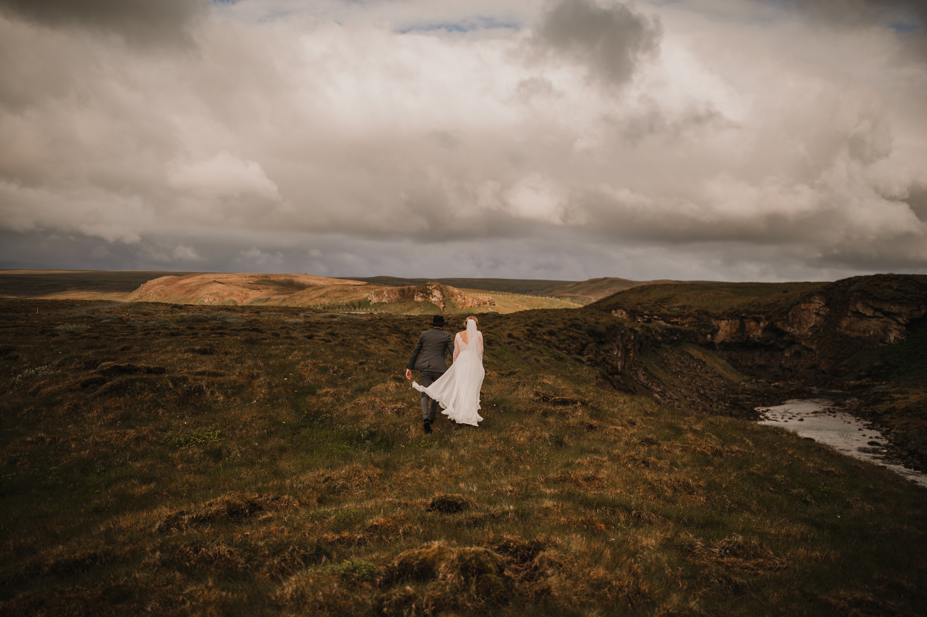 Intimate Iceland Wedding